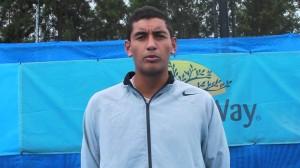 """""""Vous savez, je vais pas m'emballer, Julien Jeanpierre avait aussi remporté l'Open d'Australie juniors"""" (photo: tennisalternative)"""