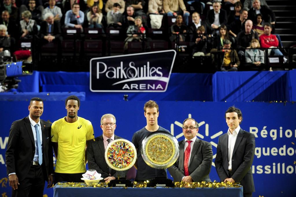 TENNIS : Open Sud de France - Finale Double - Arena - 09/02/2014